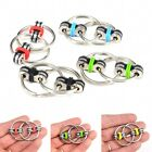Protable Key Ring Hand Spinner Fidget Bearing Tri-Spinner EDC Autism ADHD Toy