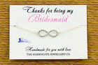 Personalised Bridesmaid/Hen Night/Party Friendship Bracelets party favours LB921