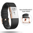Luxury Replacement Sports Silicone Watch Band Strap Bracelet For Fitbit Charge 2