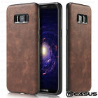 Samsung Galaxy S9/S8 Plus/Note 8 Luxury Leather Thin Slim Hard Skin Case Cover