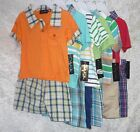 Only Kids Baby Boy Polo Shorts Set Cotton Polyester sizes 3-6 6-9 18 24 NEW