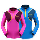 Women's Outdoor sportswear Mountaineering suit Quick drying Couples Long sleeve