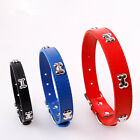 Pet Dog Bone Collar Bone Adjustable Puppy Cat Strap Rhinestone Collar Durable