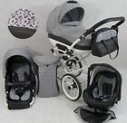 Baby 3in1 Cleo Retro Travel System +CAR SEAT PRAM PUSHCHAIR - 19 Colors