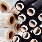 Strong Pallet Shrink Wrap Stretch Film  Clear Black Colour Handy 1 2 6 12 30 60