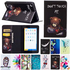 Flip Leather Case Folio Wallet Card Cover Stand For Amazon Kindle Fire HD 8 2016