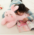 plush toy stuffed doll animal papa shy rabbit bunny sleeping pillow cushion 1pc