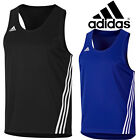 adidas Performance Base Punch Top 3 Stripe Boxing Training Climalite Vest