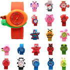 CHIC Cartoon Unisex Quartz Sports Rubber Kids Wrist Watches Cute Unique Pattern