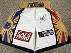 MANNY PACQUIAO SIGNED AUTO BOXING SHORTS TRUNKS Timothy Bradley PSA DNA PROOF!