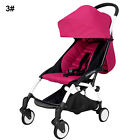 Mini Baby Stroller Travel System Small Pushchair Infant Carriage One-key Fold
