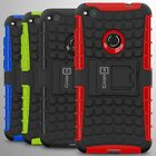 For Huawei P8 Lite (2017) Case Hard Protective Kickstand Shockproof Phone Cover