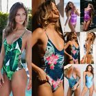 Swimwear Women One-Piece Padded Bikini Swimsuit Bathing Monokini Bandage Bikini