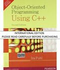 Object-Oriented Programming Using C++, 2nd ed. by Ira Pohl