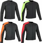 Speed & Strength Mens Light Speed Armored Textile Jacket