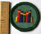 Girl Scout Junior 1963-1980 BOOKS BADGE Reader Library Patch CHOOSE Year/Fabric