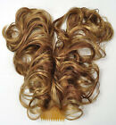 NEW Curly Bendable Two-Wire Flexible Plastic Comb Hairpiece UpDo CHOOSE COLOR