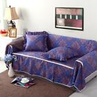 Canvas 100% Cotton Slipcover Sofa Cover lUSl for 1 2 3 4 seater Floral ty