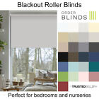 Blackout Roller Blinds - Quality Made To Measure Thermal Blackout Roller Blinds