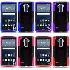 For LG G Stylo LS770 H631 G4 Stylus Dual Layer Hybrid T Kickstand Cover Case