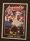ANDRE AGASSI _ 4 Different LEGENDS Cards _ Choose 1 or More _ MAIL WORLDWIDE