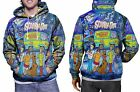 Scooby Doo New Hoodie Mens RARE ITEMS