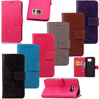 Hybrid PU Leather Card Wallet Magnetic Flip Stand Case For Samsung Galaxy S5