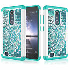 Armor Shockproof Rugged Impact Rubber Hard Case Cover For ZTE Zmax Pro / Z981