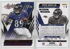 2014 Panini Absolute Retail Red #4 Steve Smith Sr Baltimore Ravens Football Card