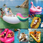 2018 Summer Inflatable Unicorn Water Float Raft  Sea Swim Lounger Beach Fun