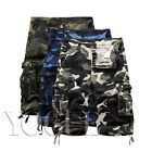 Men's Summer Military Army Fatigue Camo Cargo Shorts Camouflage Cargo Pants