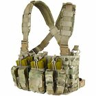 Condor MCR5 MOLLE PALS Rapid Assault Chest Rig w/ Pistol & Rifle Magazine PouchChest Rigs & Tactical Vests - 177891