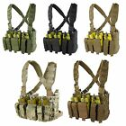 Condor MCR5 Military Recon Tactical Kangaroo Magazine Pouch Harness Chest Rig