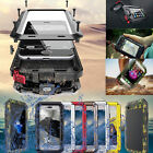 Shockproof Aluminum Waterproof Metal Glass Case Cover For iPhone 5S SE 7 6S Plus