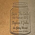 Save The Date - Laser Engraved & Cut Acrylic - Personalised Option