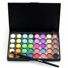 40 Colors Popfeel Pro Makeup Beauty Glitter Eye Shadow Palette Cosmetics + Brush