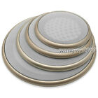 """1PCS 4""""/5""""/6.5""""/8"""" inch Speaker Cover Decorative Circle Metal Mesh Grille  Gold"""