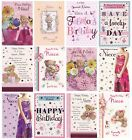 CUTE TRADITIONAL SPECIAL NIECE BIRTHDAY CARD VARIOUS DESIGNS 1STP&P