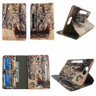 Case 8 inch Universal Tablet Folio Stand Rotating Cover Card Cash Slots Leather