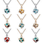 Charm Pendant Chain Silver/Gold Crystal Choker Chunky Necklace Fashion Jewellery