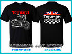 TRIUMPH Motorcycle T-shirt Triumph Speedmaster Motorcycle TEE SHIRT $26.82 CAD on eBay