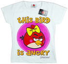 Girls Angry Birds This Bird Is Angry T-Shirt Top 11-12 Years SALE