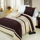 Clarice Combed cotton Embroidered Duvet Cover Set