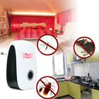 Ultrasonic Mouse Bug Pest Repeller Mosquito Insect Cockroach Electronic Rejector