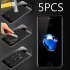 5 PCS High Quality Premium Tempered Glass Screen Protector for Various Apple