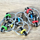 Key Ring Hand Spinner Fidget Tri-Spinner Reduce Stress EDC Toy For Autism ADHD