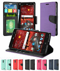 For ZTE Blade Spark Grand X4 PU Leather Wallet Flip Card Holder Cover Case