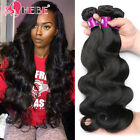 Brazilian Body Wave Virgin Hair 4 Bundles 400g Thick Human Hair Weave Weft 7A