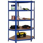 2-5 TIER METAL SHELVING INDUSTRIAL BOLTLESS RACKING GARAGE HEAVY DUTY SHELF BAY