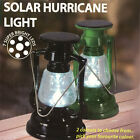 Plastic Solar Led Hurricane 7'' Lantern Camping Light Paraffin Lamp Flashlights